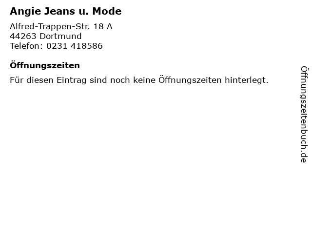 Angie Jeans u. Mode in Dortmund: Adresse und Öffnungszeiten