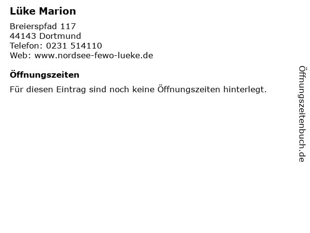 Lüke Marion in Dortmund: Adresse und Öffnungszeiten