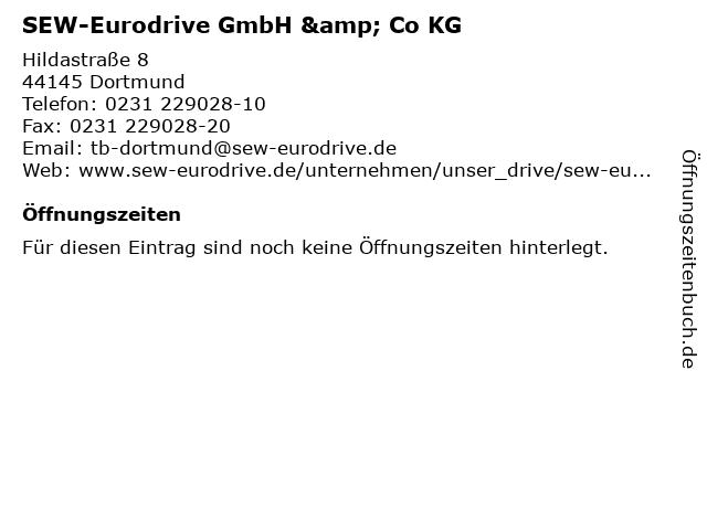 SEW-Eurodrive GmbH & Co KG in Dortmund: Adresse und Öffnungszeiten