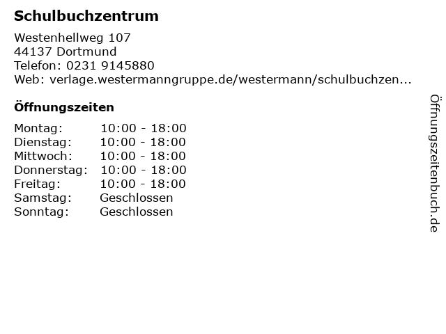 Schulbuchzentrum in Dortmund: Adresse und Öffnungszeiten