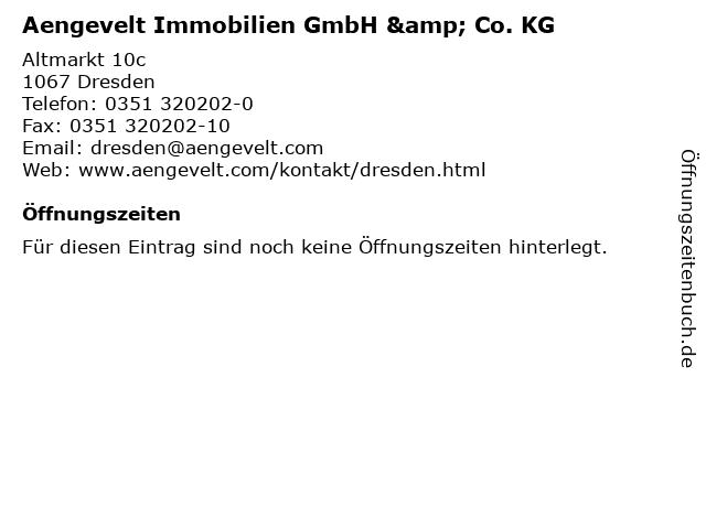 Aengevelt Immobilien GmbH & Co. KG in Dresden: Adresse und Öffnungszeiten