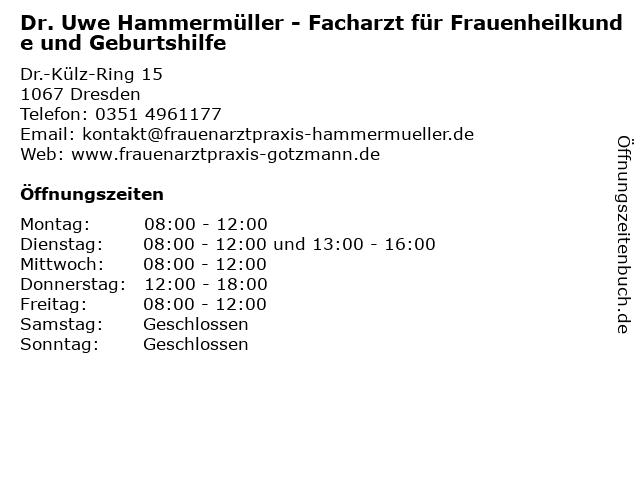 Elisabeth Gotzmann in Dresden: Adresse und Öffnungszeiten