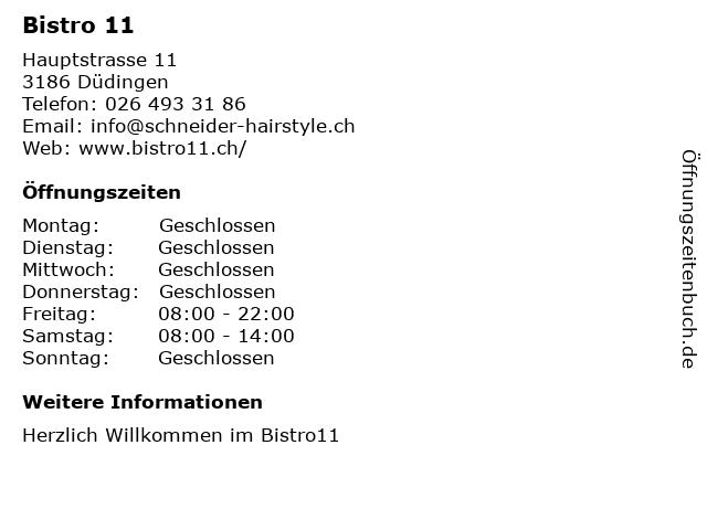 TausendSchön Hochzeitsfrisur & Make-up in Düdingen: Adresse und Öffnungszeiten
