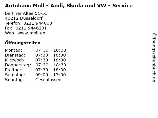 Audi moll düsseldorf