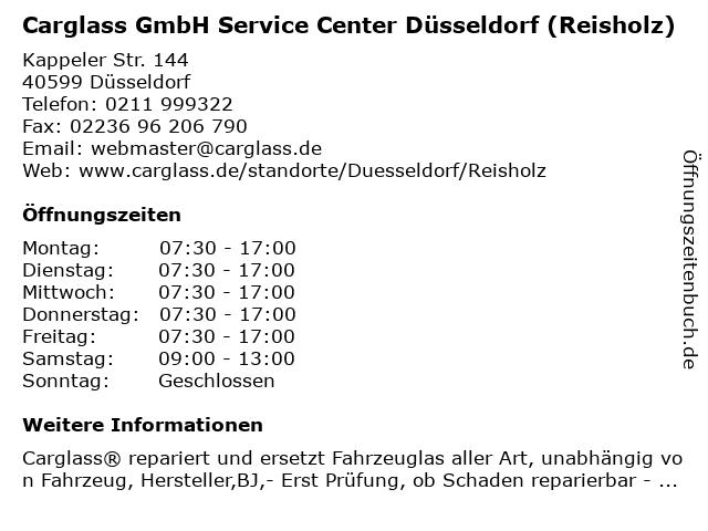 carglass gmbh düsseldorf (stadtbezirk 1) düsseldorf