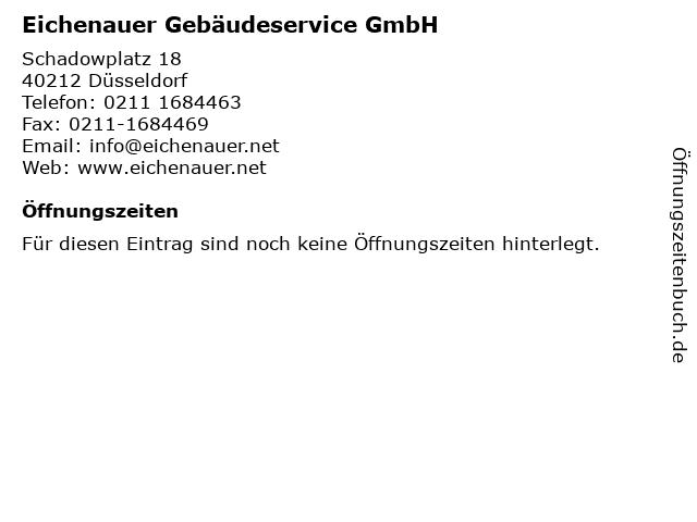 Eichenauer Gebäudeservice GmbH in Düsseldorf: Adresse und Öffnungszeiten