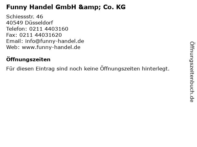 Funny Handel GmbH & Co. KG in Düsseldorf: Adresse und Öffnungszeiten