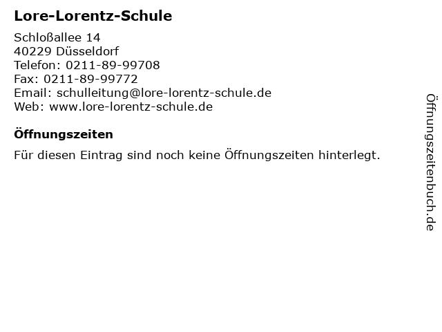 Lore lorenz schule