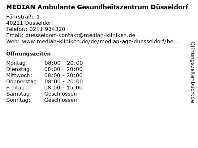 median agz düsseldorf