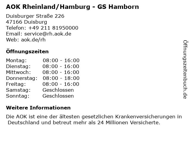 Aok Hamborn