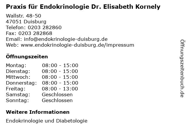 endokrinologie in der nähe