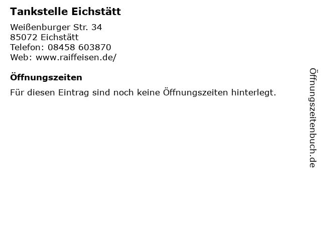 Tankstelle Eichstätt in Eichstätt: Adresse und Öffnungszeiten