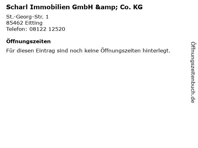 Scharl Immobilien GmbH & Co. KG in Eitting: Adresse und Öffnungszeiten