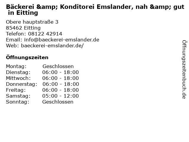 nah & gut Mairhofer in Eitting: Adresse und Öffnungszeiten