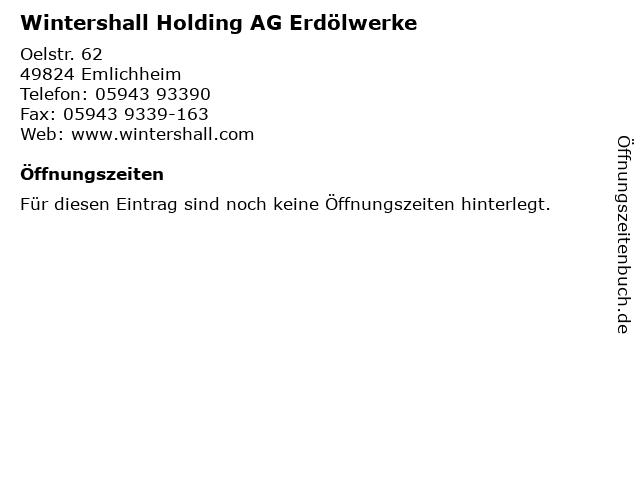 wintershall emlichheim