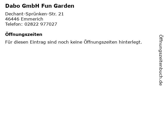fun garden emmerich