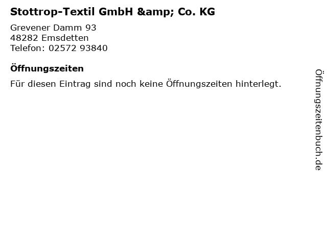 Stottrop-Textil GmbH & Co. KG in Emsdetten: Adresse und Öffnungszeiten