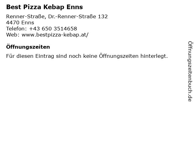 Best Pizza Kebap Enns in Enns: Adresse und Öffnungszeiten