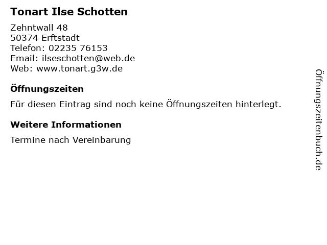 Tonart Ilse Schotten in Erftstadt: Adresse und Öffnungszeiten