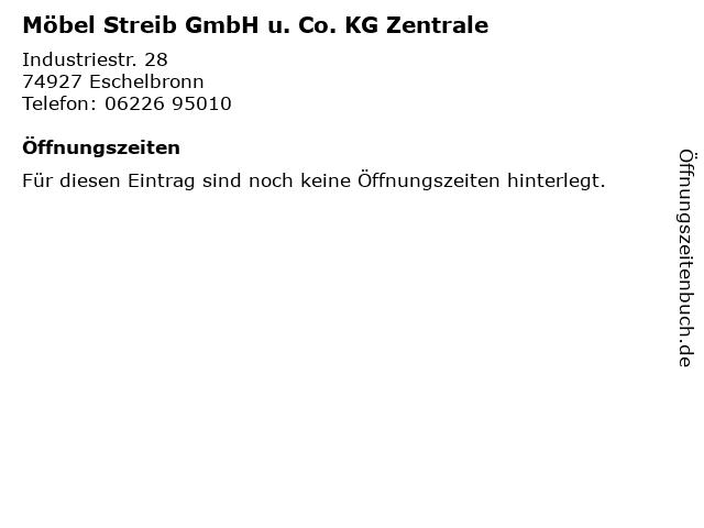 ᐅ öffnungszeiten Möbel Streib Gmbh U Co Kg Zentrale