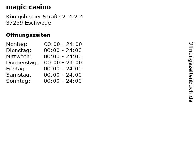 Magic Casino München öffnungszeiten
