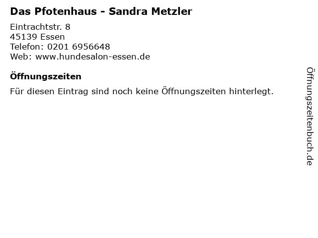 Das Pfotenhaus - Sandra Metzler in Essen: Adresse und Öffnungszeiten