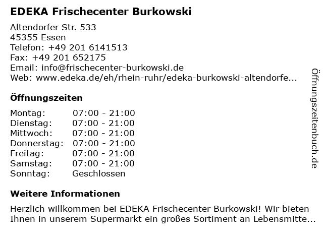 edeka burkowski