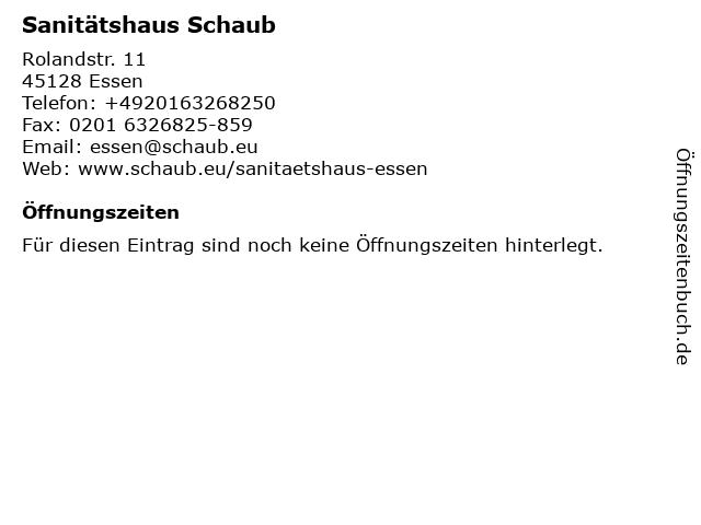 Franz Schaub KG, Aussenbüro Essen, Fil. Bad-Berleburg in Essen: Adresse und Öffnungszeiten