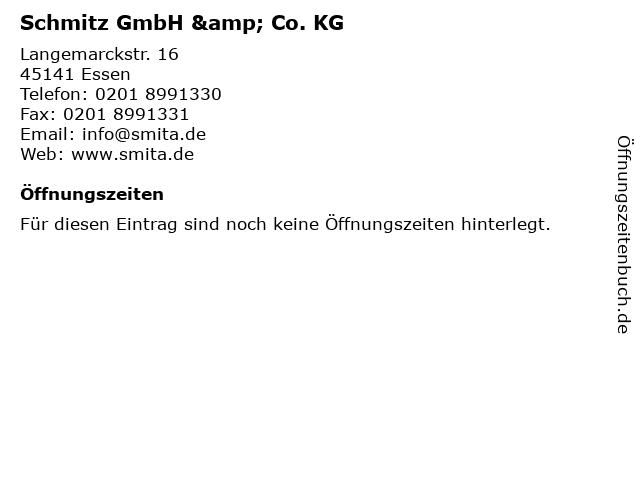 Schmitz GmbH & Co. KG in Essen: Adresse und Öffnungszeiten