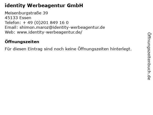 identity Werbeagentur GmbH in Essen: Adresse und Öffnungszeiten