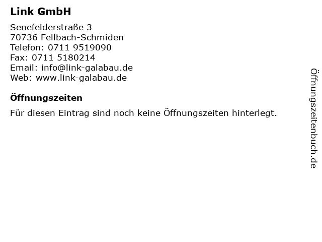 Link GmbH in Fellbach-Schmiden: Adresse und Öffnungszeiten