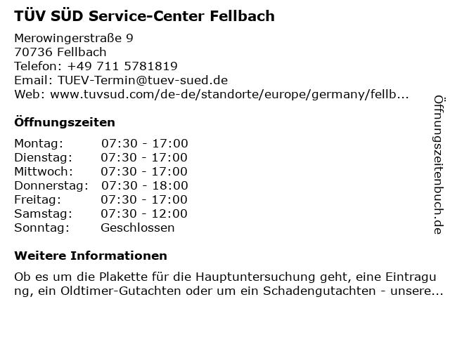 Tüv Süd Fellbach