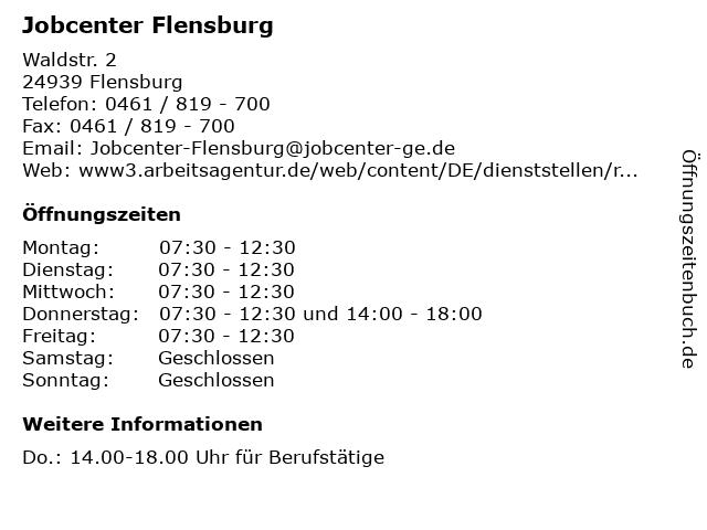 arge flensburg jobbörse