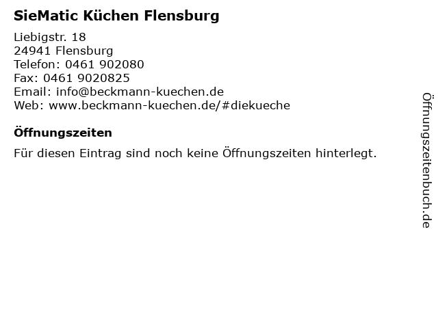 SieMatic Küchen Flensburg in Flensburg: Adresse und Öffnungszeiten