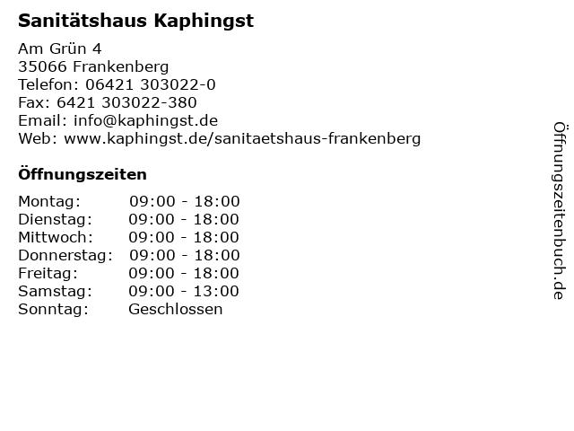 b8d1cc94b47902 Bilder zu Sanitätshaus Kaphingst in Frankenberg