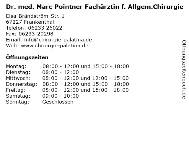Pointner Frankenthal