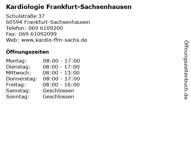 kardiologie sachsenhausen