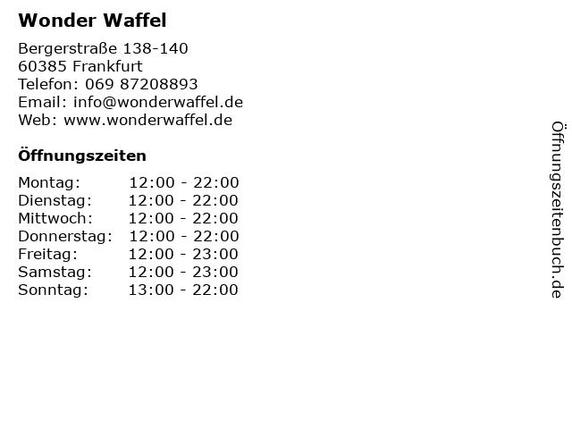 wonder waffle saarbrücken
