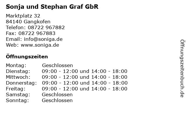 Sonja und Stephan Graf GbR in Gangkofen: Adresse und Öffnungszeiten