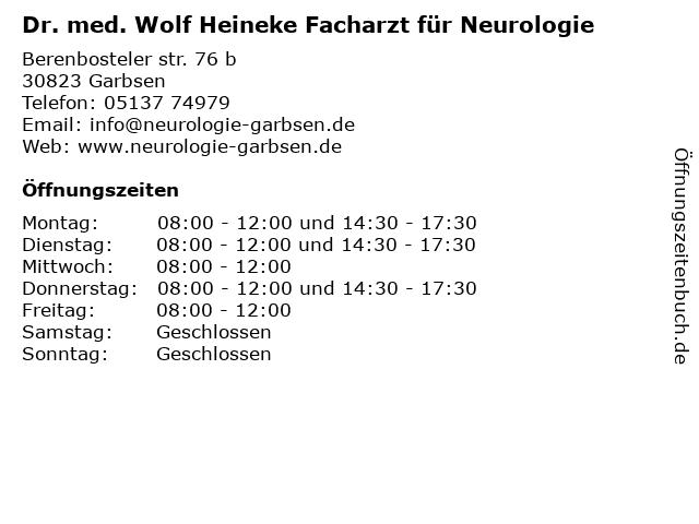 Kuhn, Reinhard in Garbsen: Adresse und Öffnungszeiten