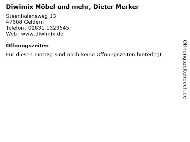 ᐅ öffnungszeiten Diwimix Möbel Und Mehr Dieter Merker