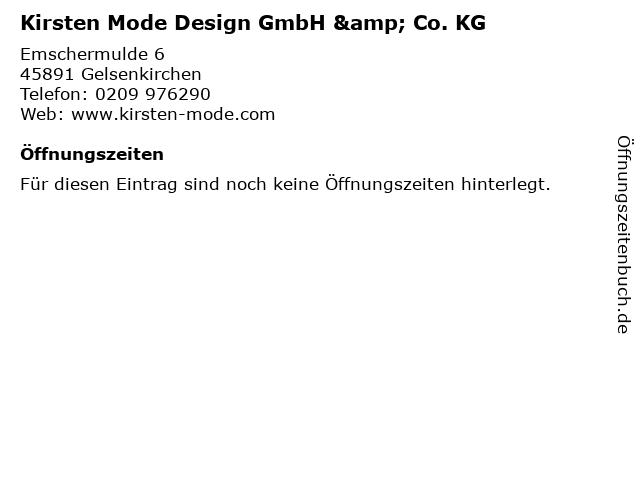 Kirsten Mode Design GmbH & Co. KG in Gelsenkirchen: Adresse und Öffnungszeiten