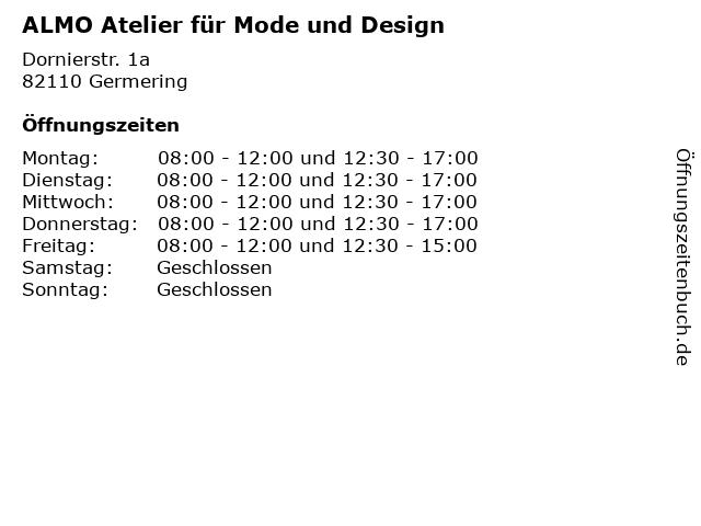 ALMO Atelier für Mode und Design in Germering: Adresse und Öffnungszeiten