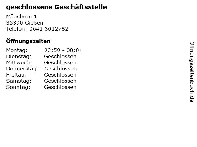 BACK-FACTORY in Gießen: Adresse und Öffnungszeiten