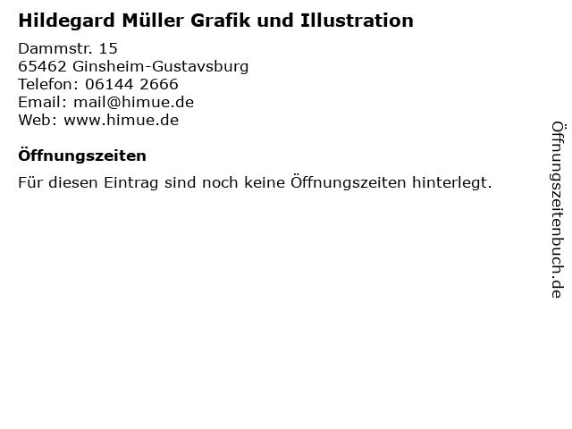 Hildegard Müller Grafik und Illustration in Ginsheim-Gustavsburg: Adresse und Öffnungszeiten