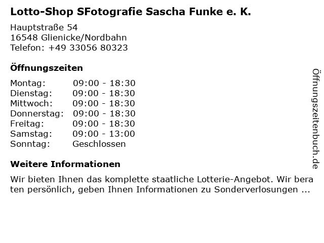 SKRIBO pro-scriptum in Glienicke: Adresse und Öffnungszeiten