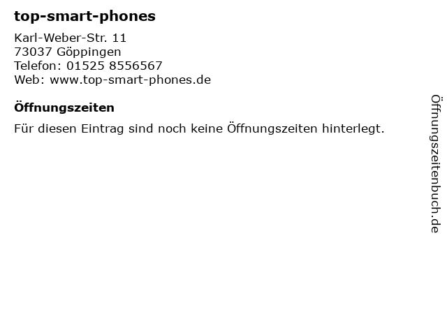 top-smart-phones in Göppingen: Adresse und Öffnungszeiten
