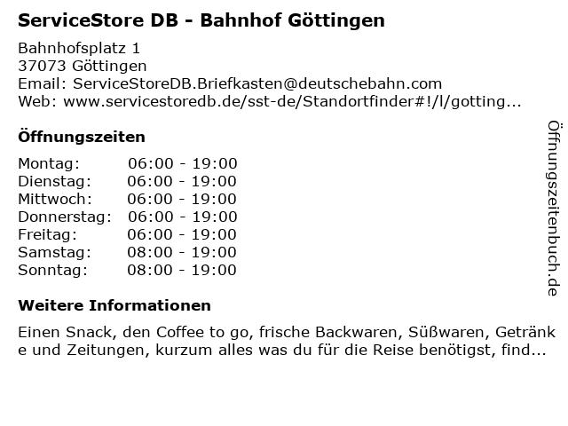 Voss Fahrräder am Bahnhof in Göttingen: Adresse und Öffnungszeiten