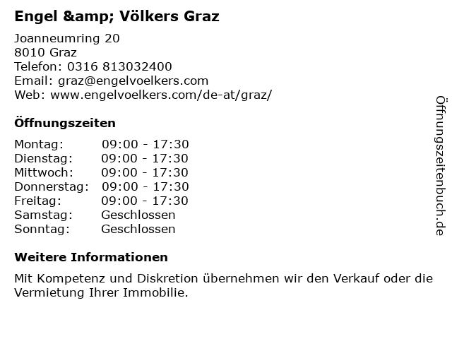 Engel & Völkers Graz in Graz: Adresse und Öffnungszeiten