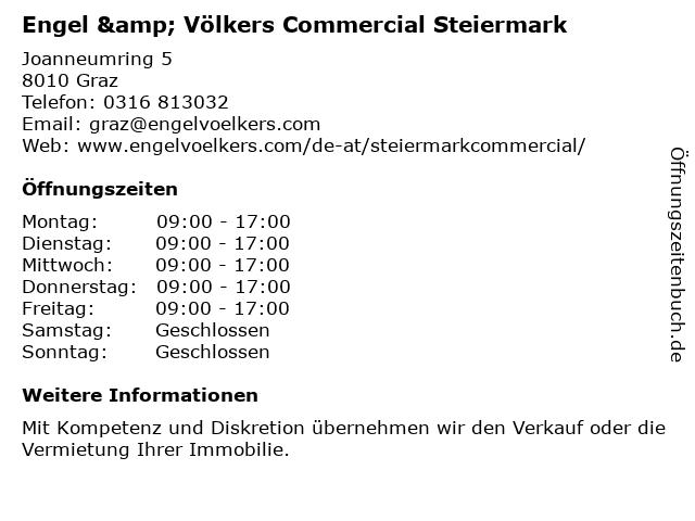 Engel & Völkers Steiermark in Graz: Adresse und Öffnungszeiten